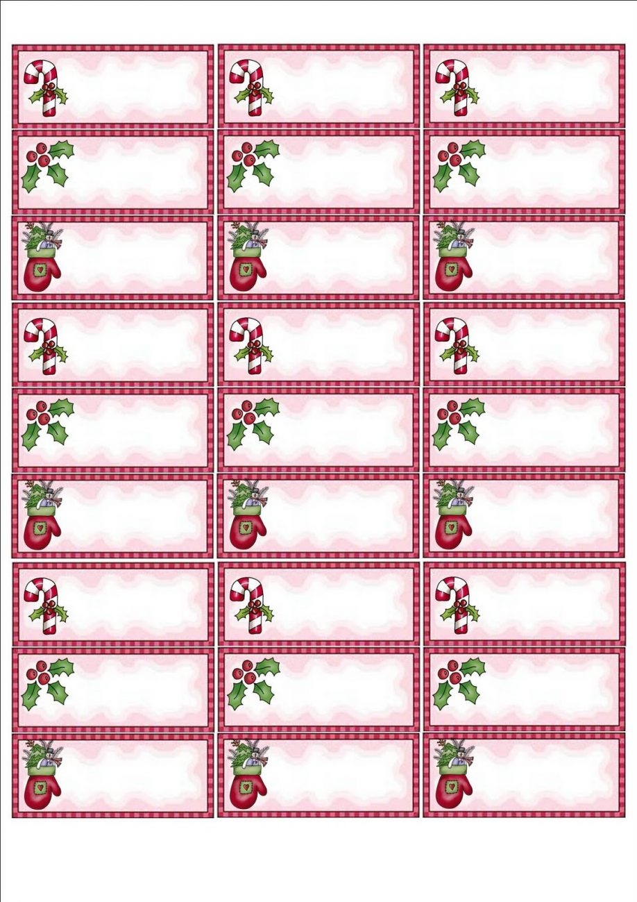 Address Label Templates Christmas Return Labels Template Avery 5160 - Free Printable Labels Avery 5160