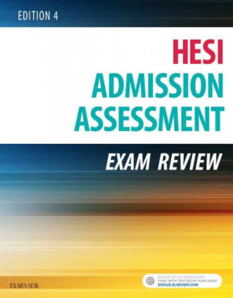 Admission Assessment Exam Review / Edition 4Hesi | 9780323353786 - Free Printable Hesi Study Guide