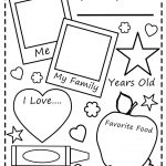 All About Me Worksheet All About Me Free Printable Worksheets   Free Printable All About Me Worksheet