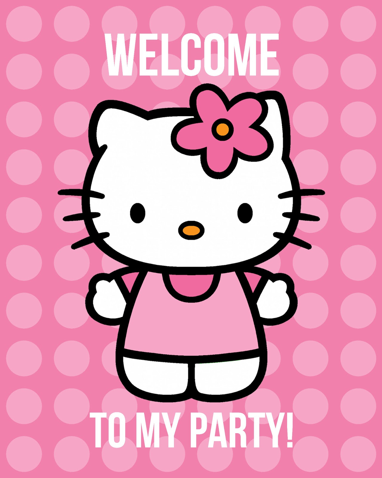 All Things Simple: Simple Celebrations: Hello Kitty Party + Printables - Hello Kitty Labels Printable Free