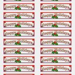 All You Need To Know About Free Avery | Label Maker Ideas   Free Printable Christmas Address Labels Avery 5160