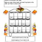 Alphabetical Order On The Shelf   Worksheet. | Library Skills   Free Library Skills Printable Worksheets