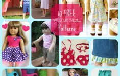 American Girl Doll 10 Free Patterns For Cute Clothing And Accessories – American Girl Clothes Patterns Free Printable