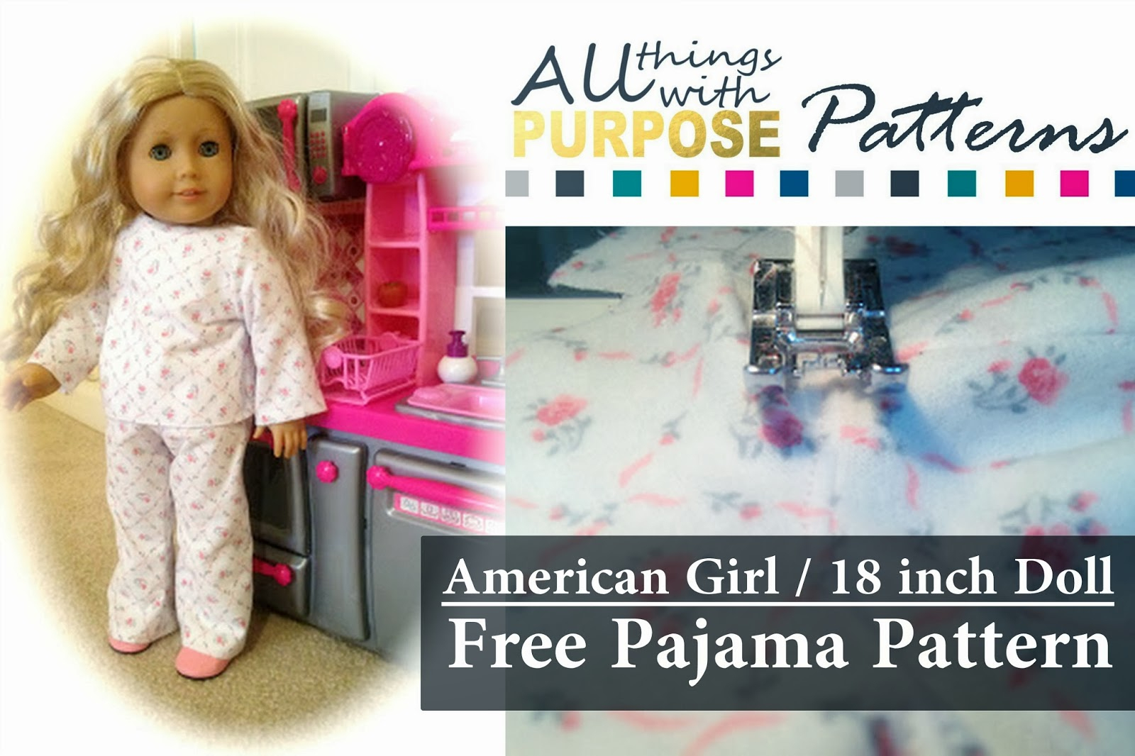 American Girl Doll Free Pajamas Pattern - American Girl Doll Clothes Patterns Free Printable