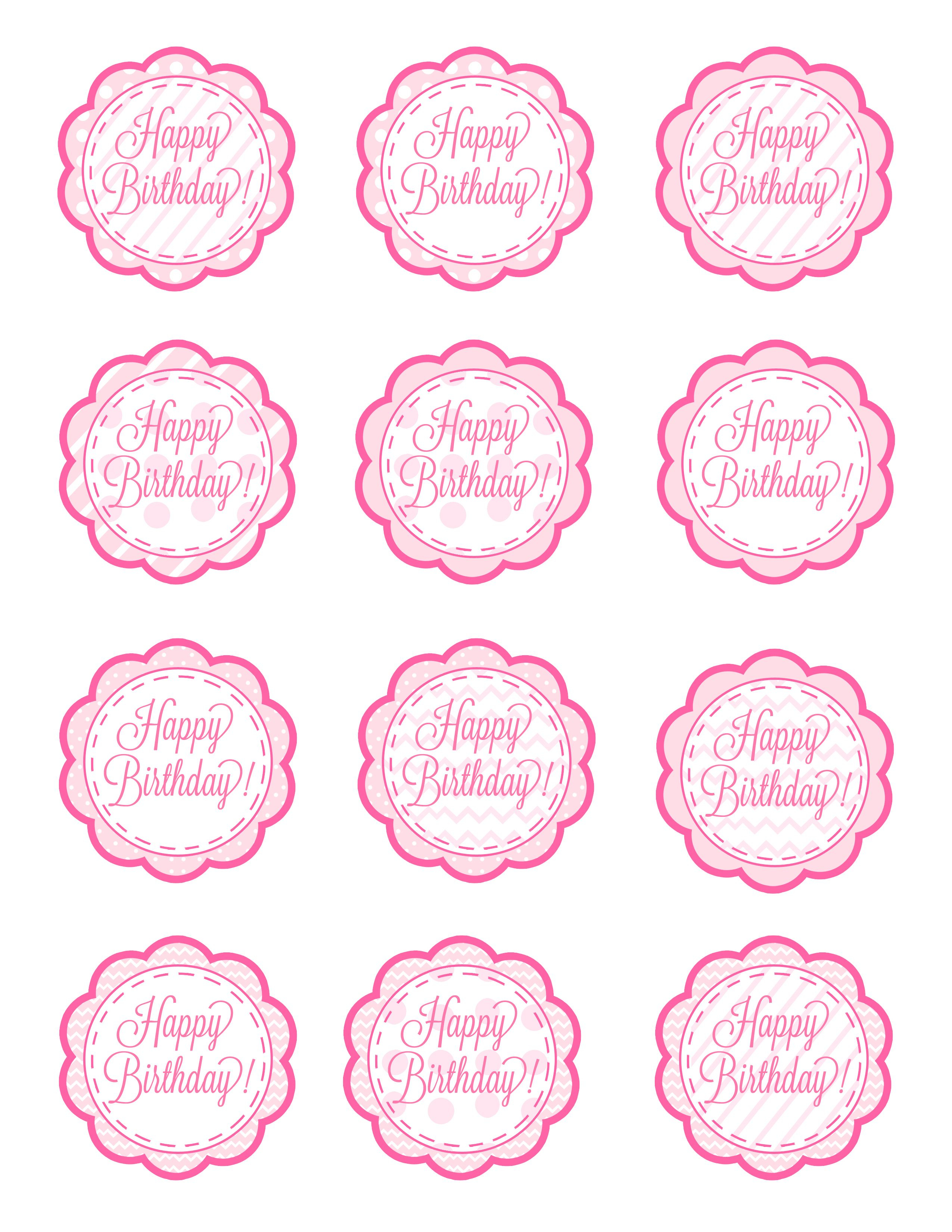 American Girl Free Cupcake Toppers Printable | These Could Also - Baptism Cupcake Toppers Printable Free