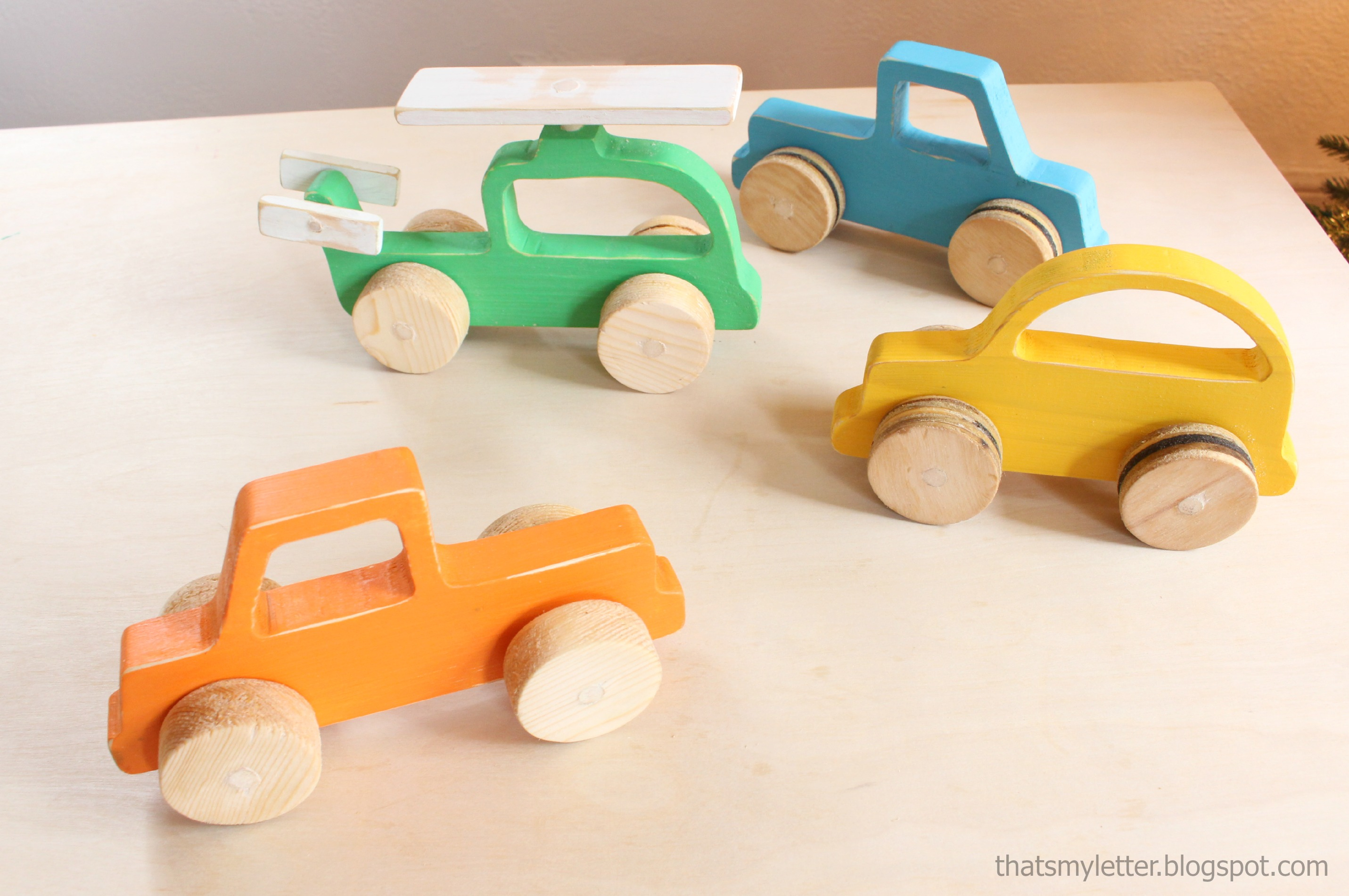Ana White | Wood Push Car, Truck And Helicopter Toys - Diy Projects - Free Wooden Toy Plans Printable