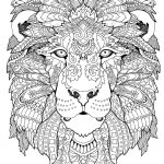 Awesome Animals Adult Coloring Book Coloring Pages Pdf | Awesome   Free Printable Coloring Book Pages For Adults