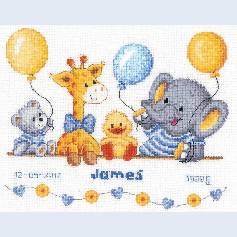 Baby Cross Stitch Patterns Free Printable   Point De Croix Girafes - Baby Cross Stitch Patterns Free Printable