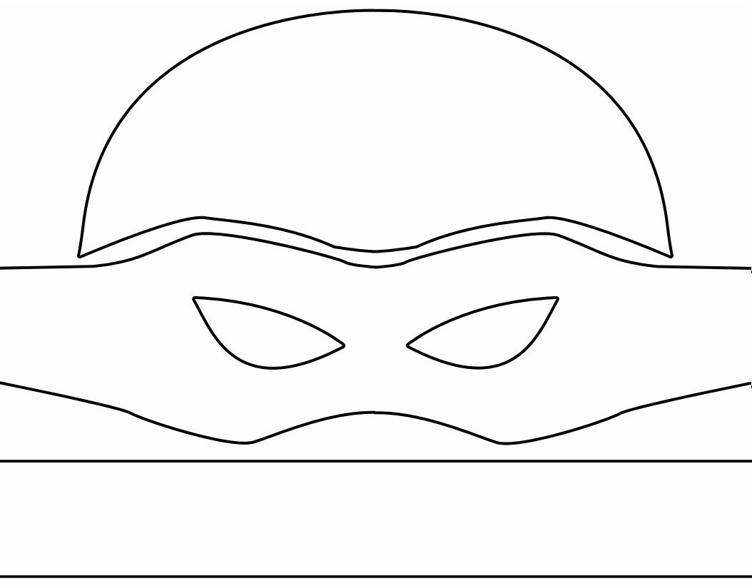 Baby Ninja Turtle Masks Printable Template - 10.15.hus-Noorderpad.de • - Teenage Mutant Ninja Turtles Free Printable Mask