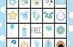 Baby Bingo Free Printable