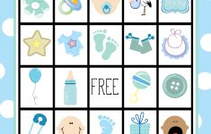 Printable Baby Shower Bingo Games Free