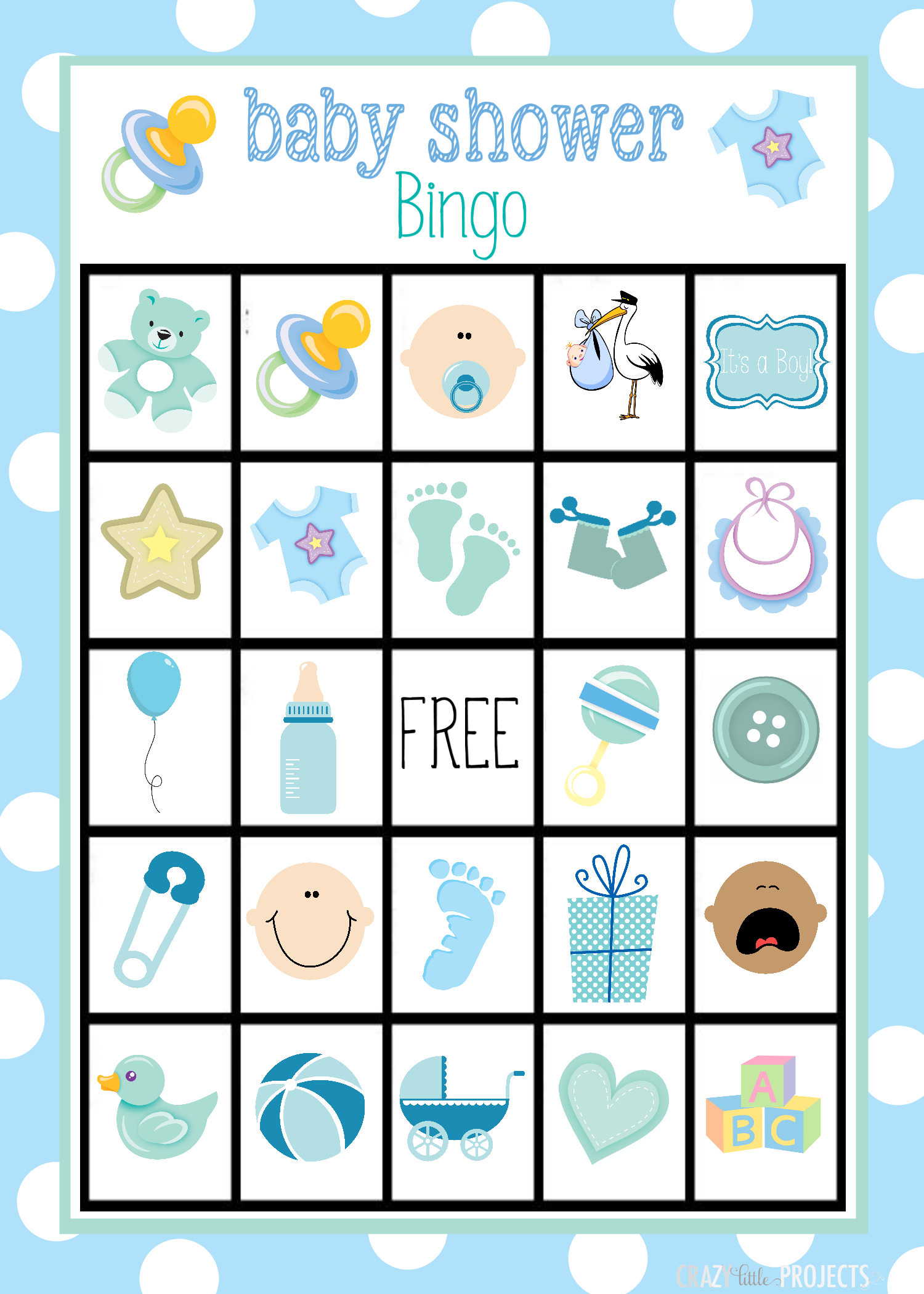 Baby Shower Bingo Cards | Share Your Craft | Baby Shower Bingo, Baby - 50 Free Printable Baby Bingo Cards