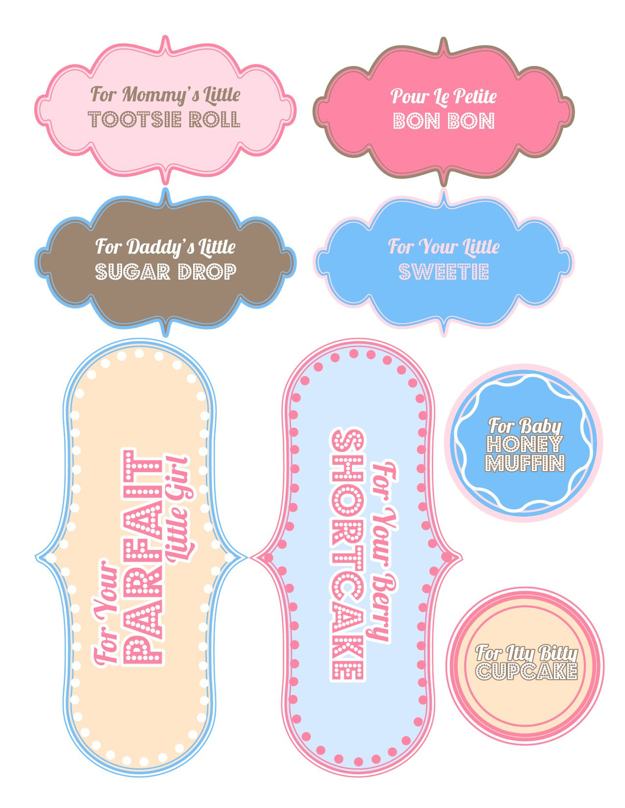 Baby Shower Gifts - [Free Printable   Baby Swag   Pinterest   Baby - Free Printable Baby Shower Gift Tags