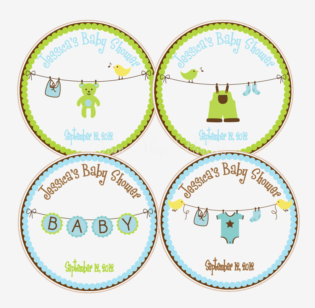 Baby Shower Labels Templates Favor Wording Label Ideas Tags Diy Free - Free Printable Baby Shower Favor Tags