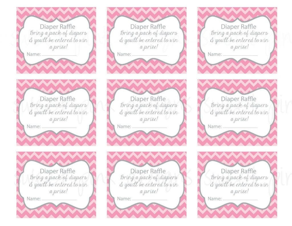 Baby Shower Raffle Tickets Printable - Baby Shower Ideas - Free Printable Bridal Shower Raffle Tickets