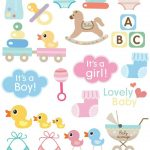 Babybaby   Sticker Printable… | Diy & Crafts | Baby, Baby   Pin The Dummy On The Baby Free Printable