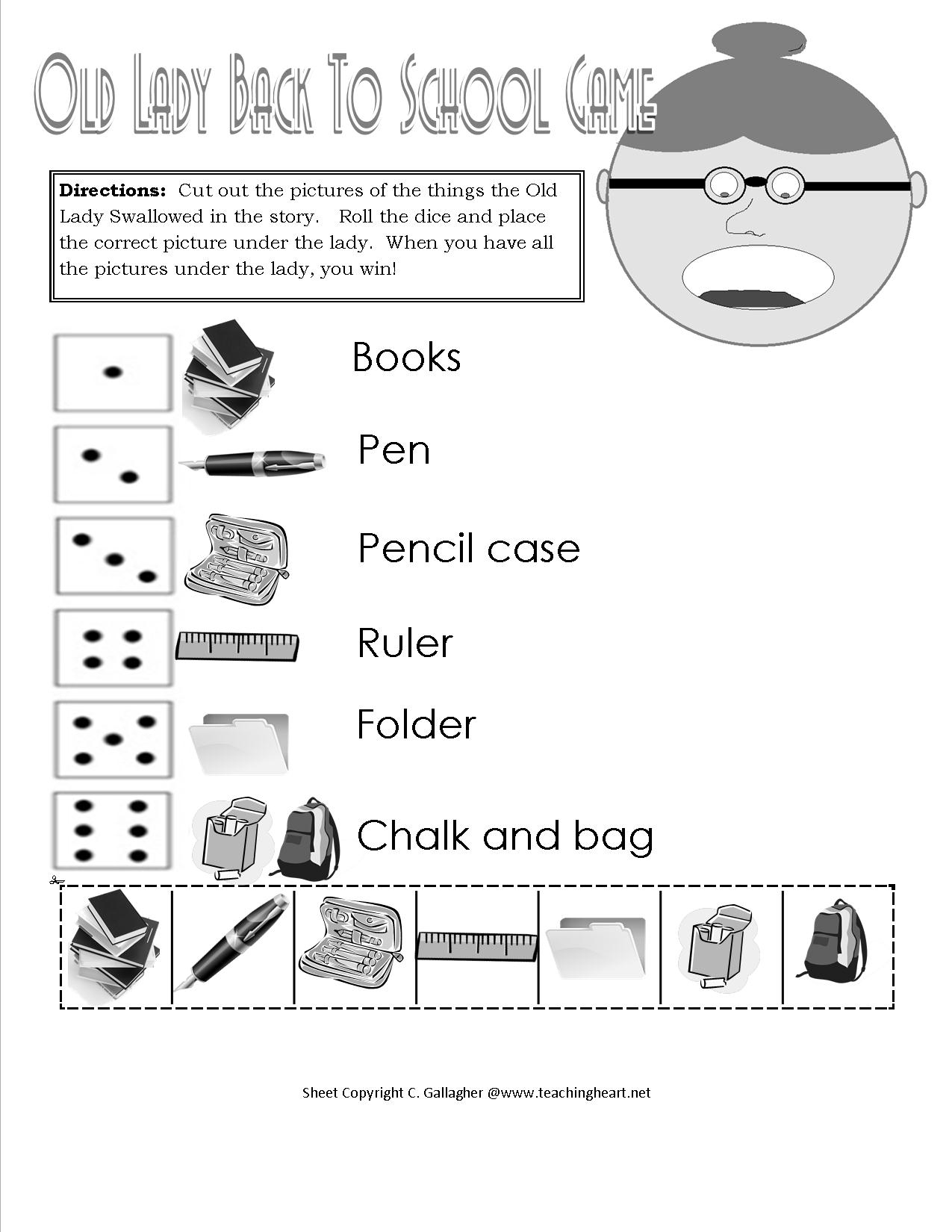 Back To School Reading - What To Read To Your Class On The First Day!! - Chrysanthemum Free Printable Activities