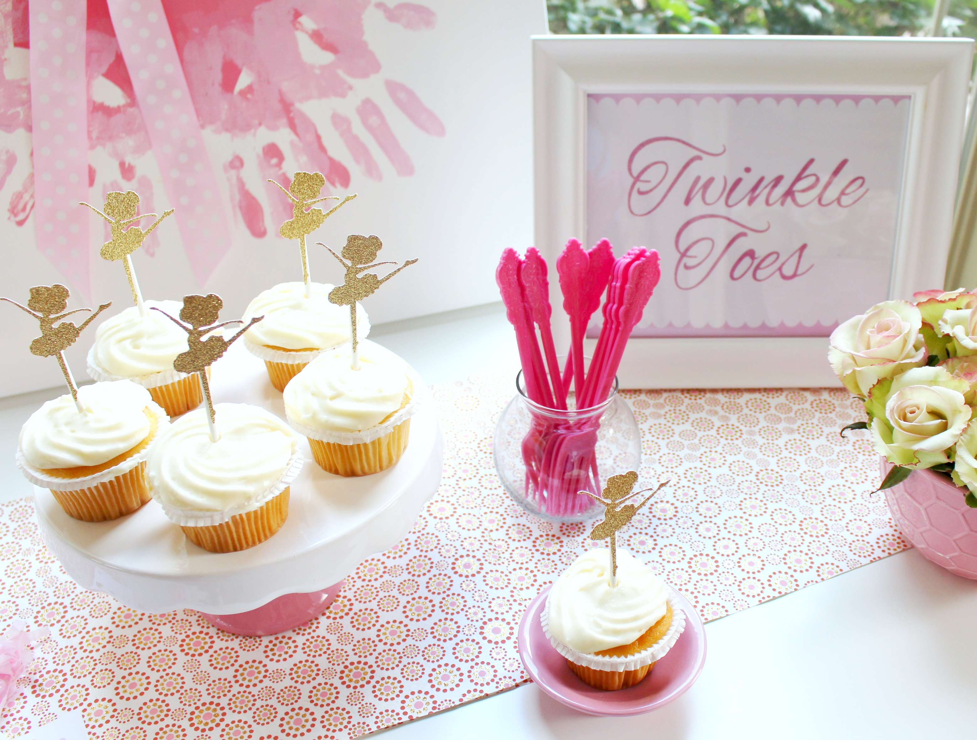 Ballerina Party Ideas + Free Printables | Catch My Party - Free Printable Ballerina Birthday Invitations