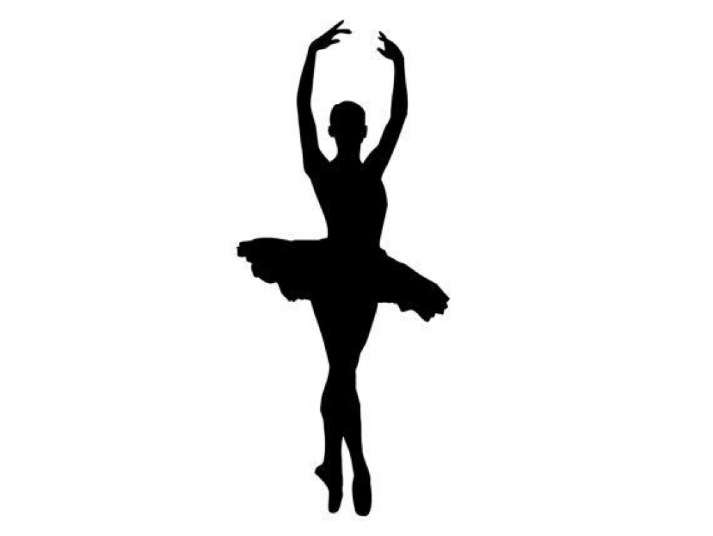 Ballerina Silhouette Printable At Getdrawings | Free For Within Free - Free Printable Ballerina Silhouette