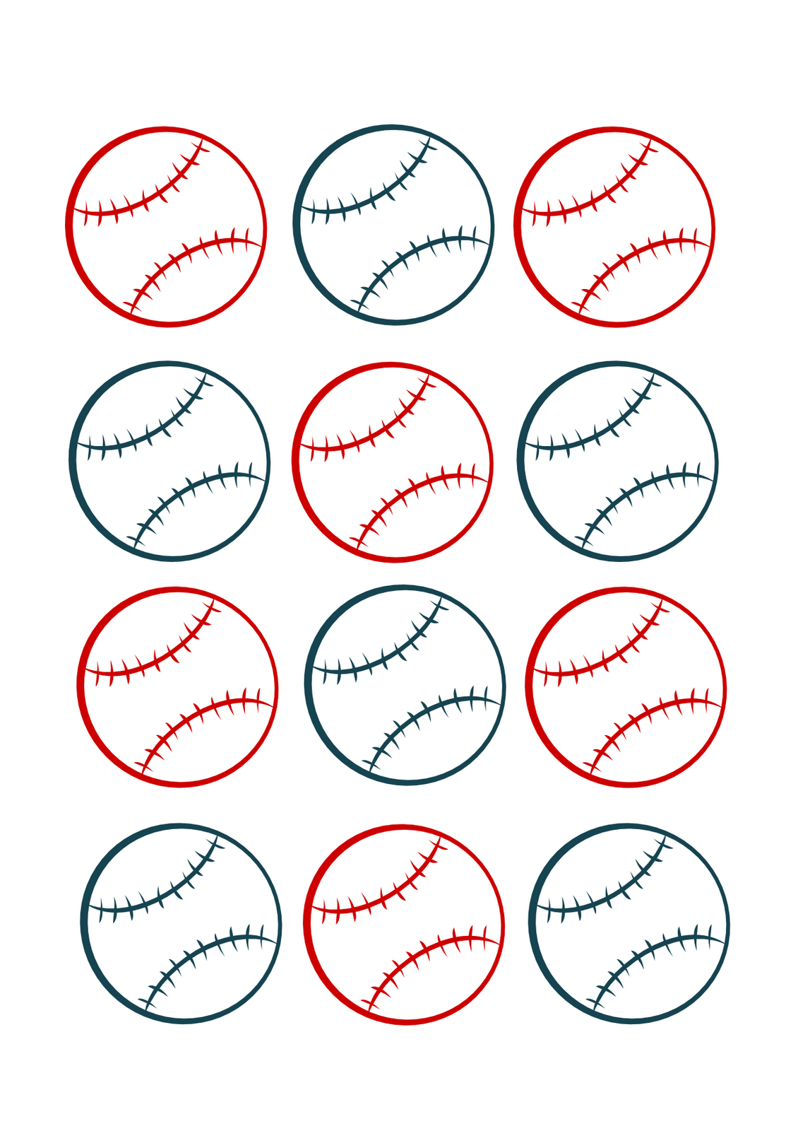 Baseball Name Tags Printable | Www.topsimages - Free Printable Baseball Favor Tags