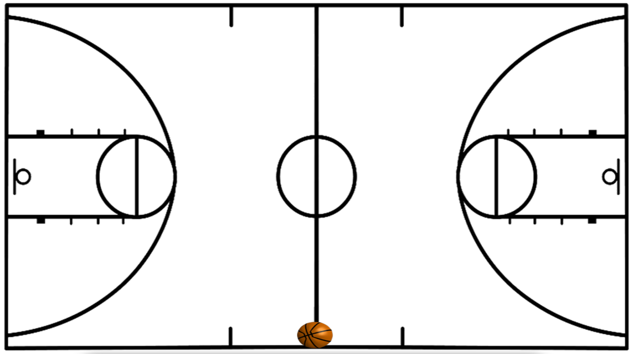 Basketball Court Lines - Google Search | Sports Vbs In 2019 - Free Printable Basketball Court