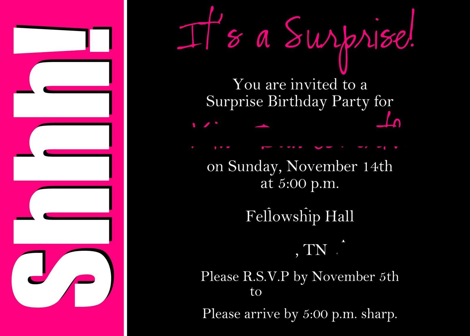 Bddcfcffaddd Fancy Free Printable Surprise 60Th Birthday Invitations - Free Printable Surprise 60Th Birthday Invitations