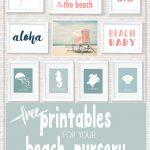 Beach Printables | ~ Printables ✂ | Pinterest | Décoration Bébé   Free Printable Beach Pictures