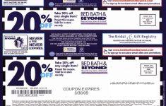 Free Printable Bed Bath And Beyond 20 Off Coupon