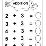 Beginner Addition – 6 Kindergarten Addition Worksheets / Free   Free Printable Math Worksheets For Kindergarten
