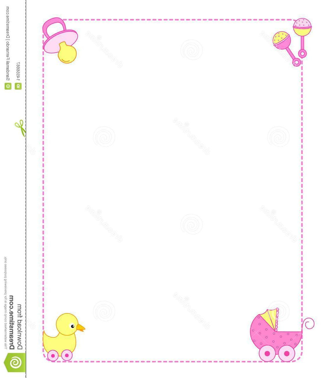 Best Free Printable Baby Borders For Paper Border Clipart Pictures - Free Printable Baby Borders For Paper