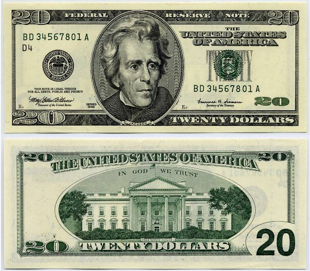 Best Photos Of Paper Play Money Actual Size - Rare 20 Dollar Bill Us - Free Printable Us Currency