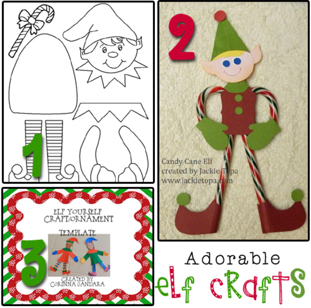 Best Photos Of Printable Elf Craft - Free Printable Elf Craft, Free - Free Printable Elf Pattern