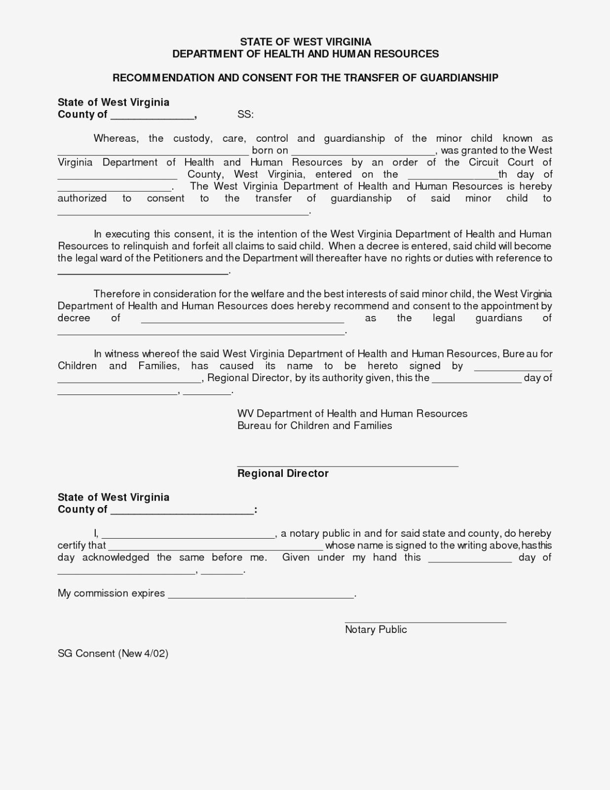 Best Photos Of Sample Legal Guardianship Form Idaho – Free Printable - Free Printable Legal Guardianship Forms