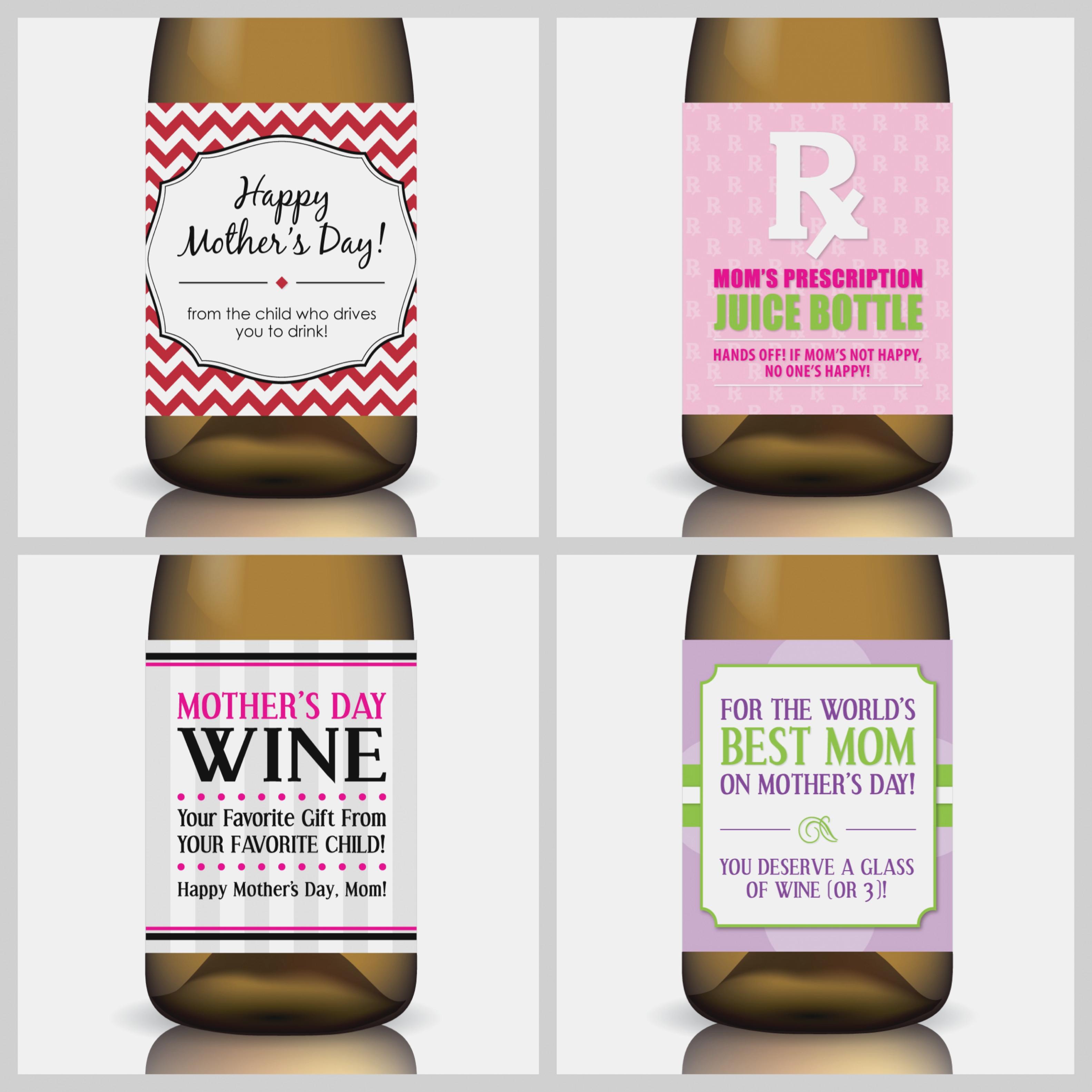 Best Photos Of Wine Label Free Printable Mini Templates – Free .. - Free Printable Wine Labels With Photo