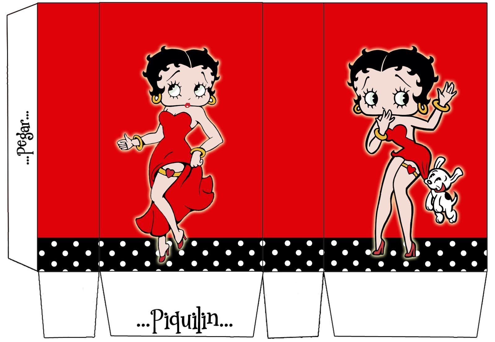 Betty Boop: Free Printable Mini Kit. | Janet | Pinterest | Betty - Free Printable Betty Boop