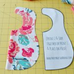 Bib Pattern For Beginners: You Can Make This! – Mary Martha Mama – Free Printable Bib Pattern