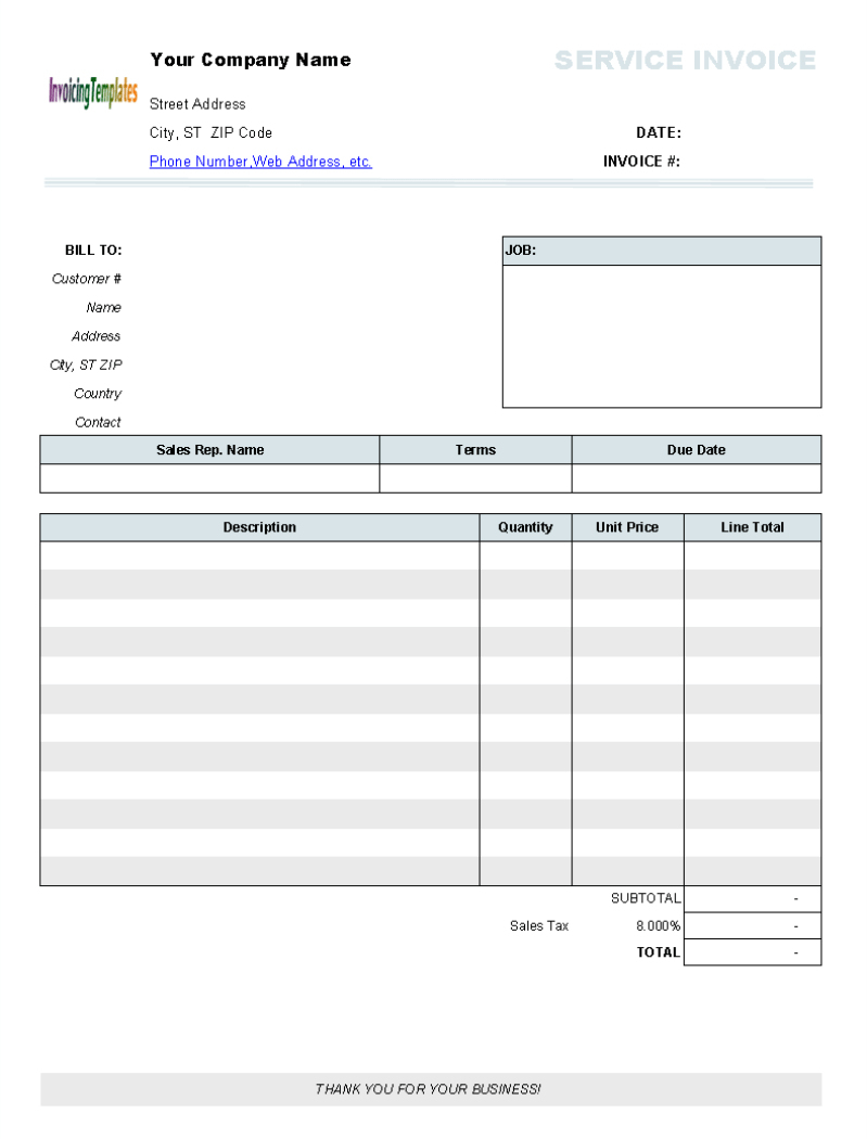 Billing Invoices Free Printable Invoice Forms Templates Blank Design - Free Bill Invoice Template Printable