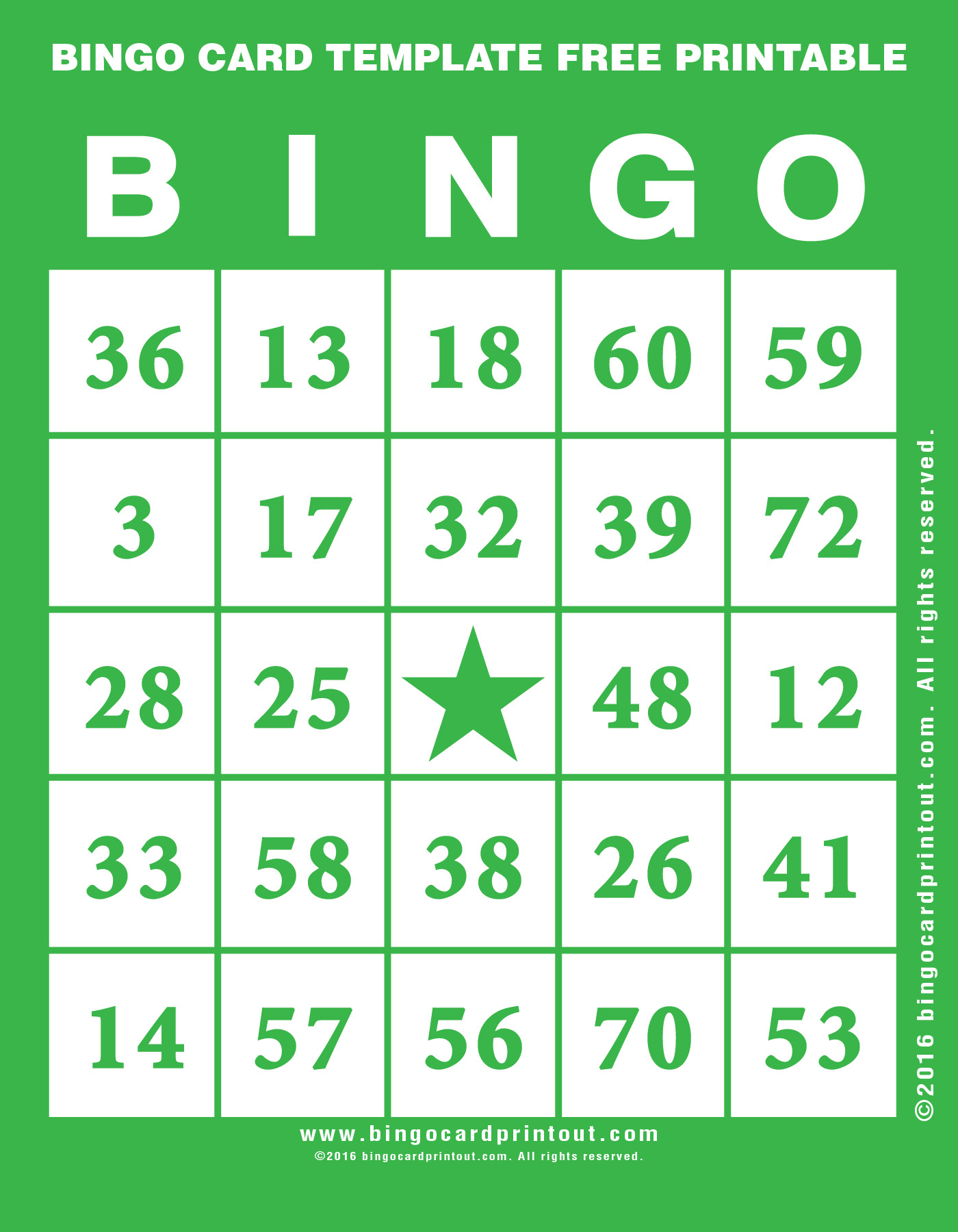 Bingo Card Template Free Printable - Bingocardprintout - Free Printable Bingo Cards For Large Groups