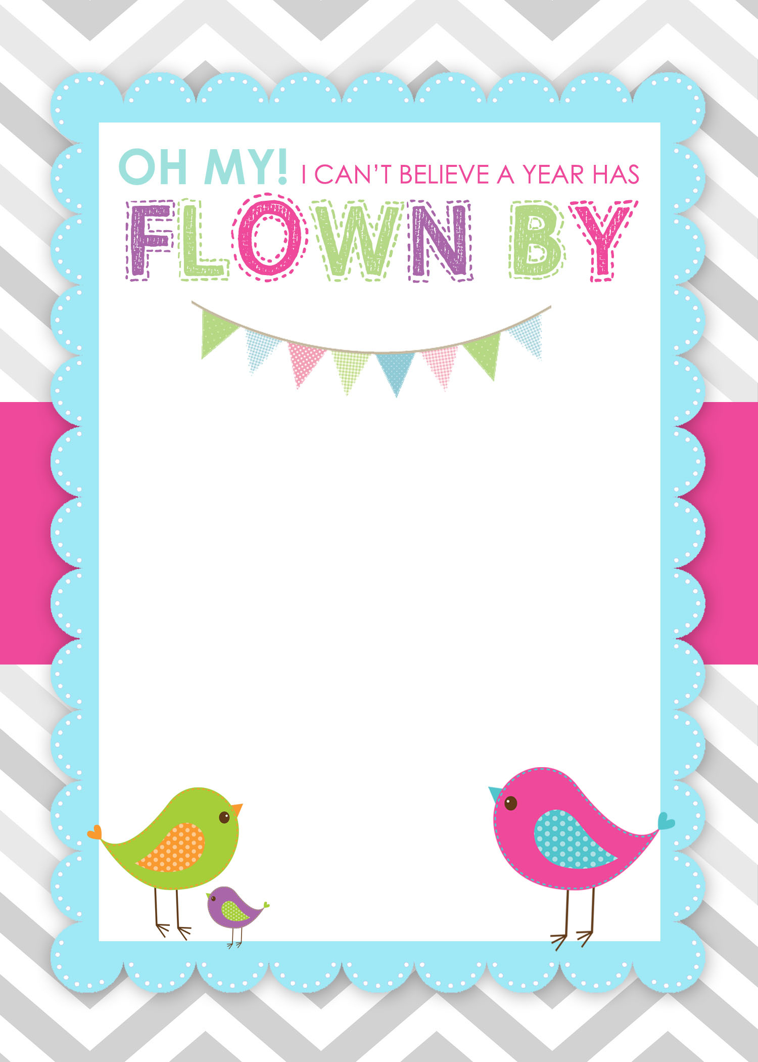 Bird Birthday Party With Free Printables - How To Nest For Less™ - Free Printable Polka Dot Birthday Party Invitations