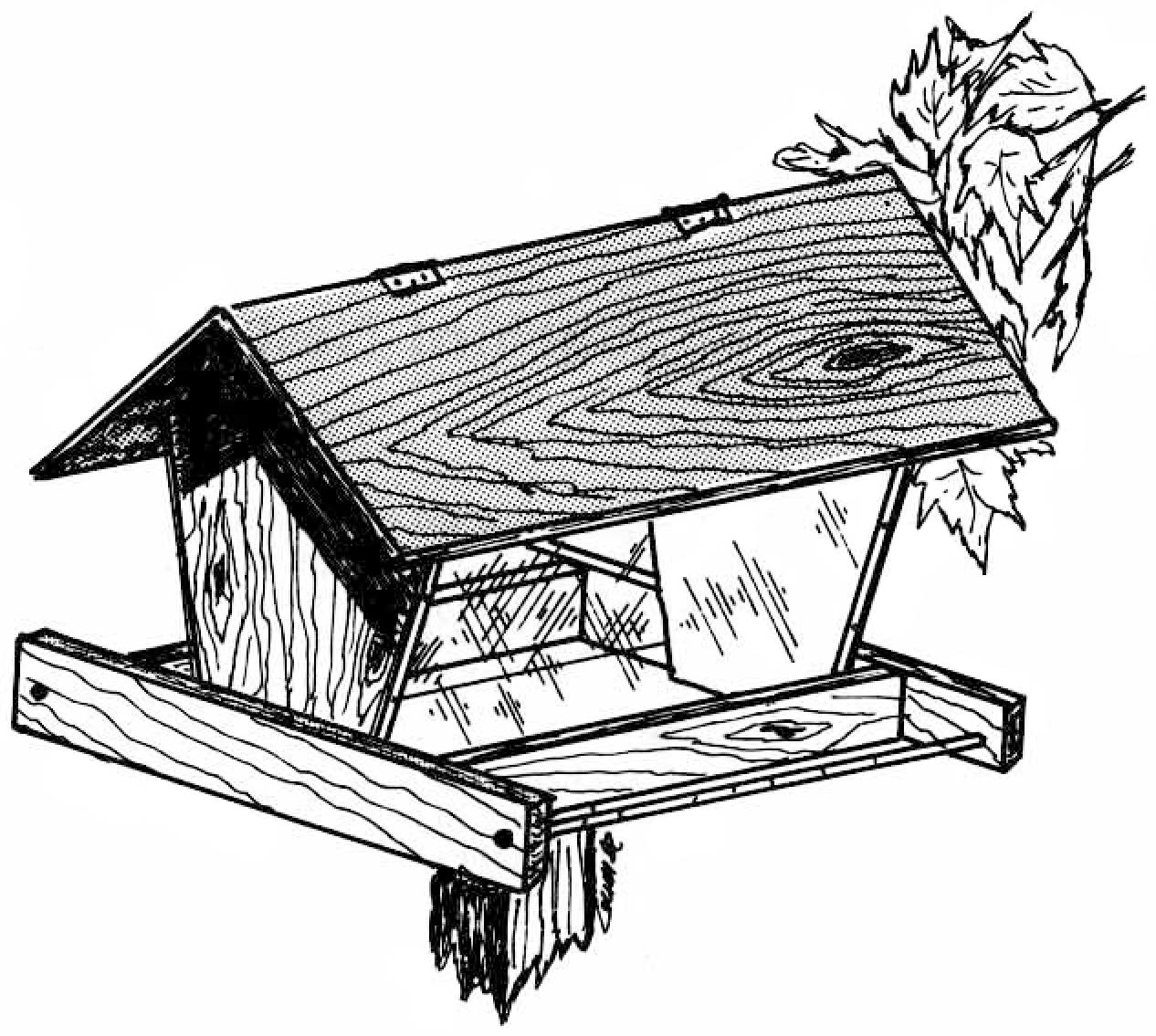 Birdfeeders At Woodworkersworkshop - Free Printable Woodworking Plans