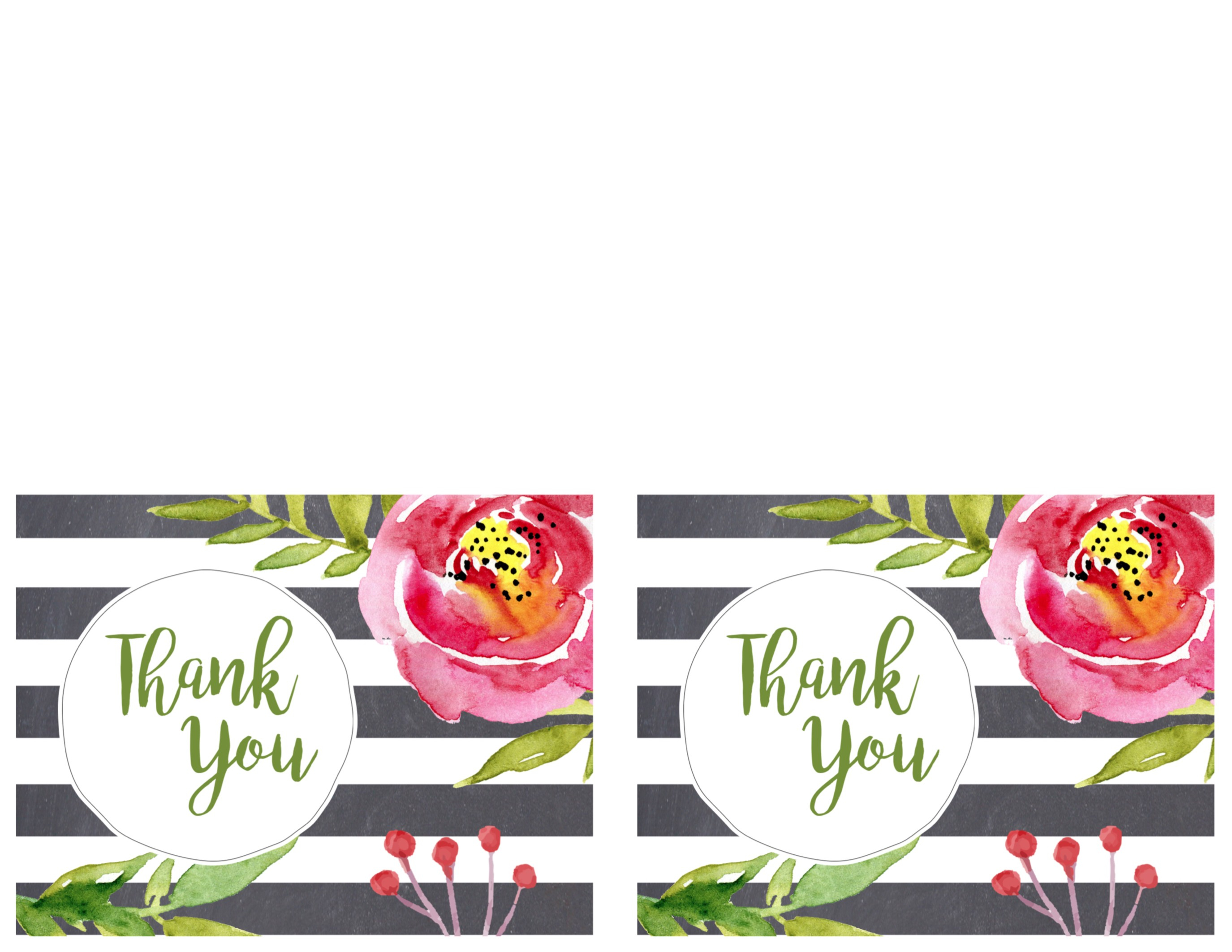 Birthday Cards To Print New Free Printable Greeting Cards Thank You - Free Printable Birthday Cards To Color