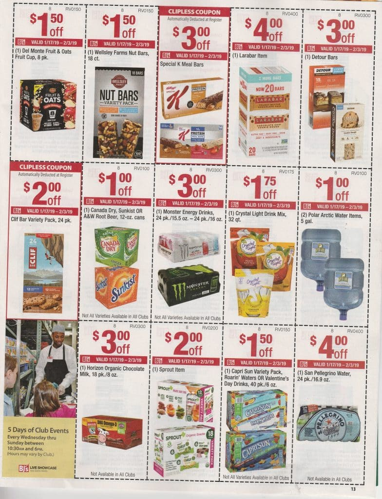 Bjs In Club Coupon Scan & Matchups 1/17- 2/3 | My Bjs Wholesale - Free Printable Coupons For Food