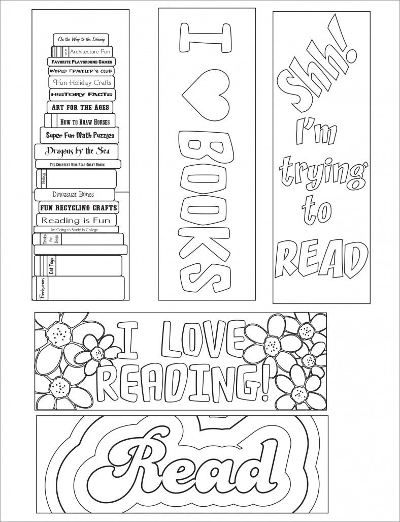 Blank Bookmark Template, Bookmark Template | Bookmarker Ideas | Free - Free Printable Baby Bookmarks
