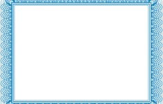 Blank Certificate Printable | Printable Birthday Certificates – Free Printable Blank Certificate Templates