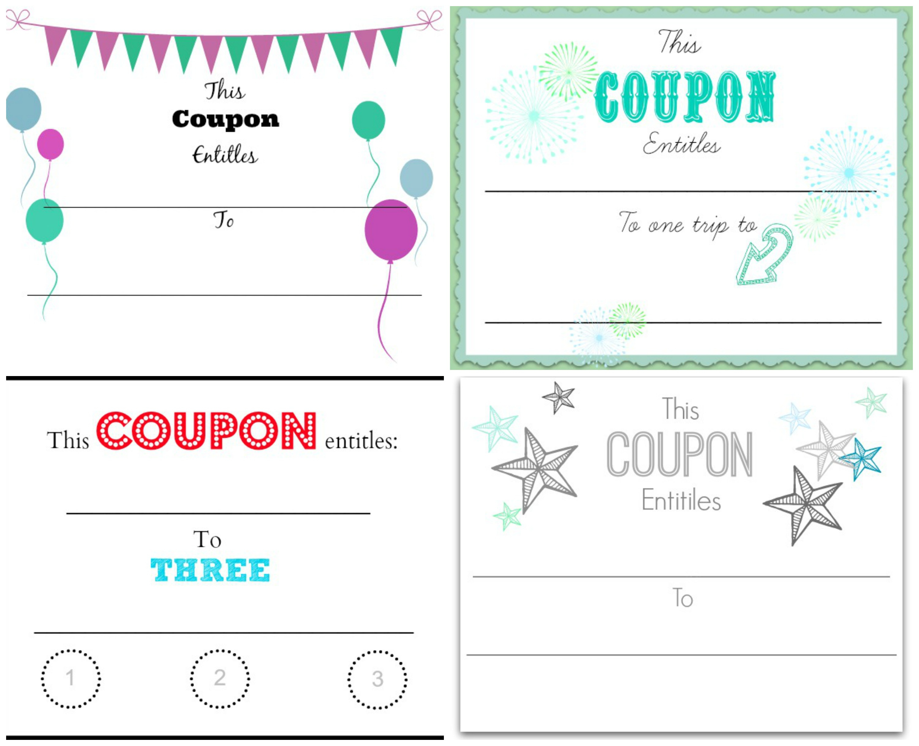 Blank Coupons Templates 29 Images Of Customizable Coupon Template - Make Your Own Printable Coupons For Free