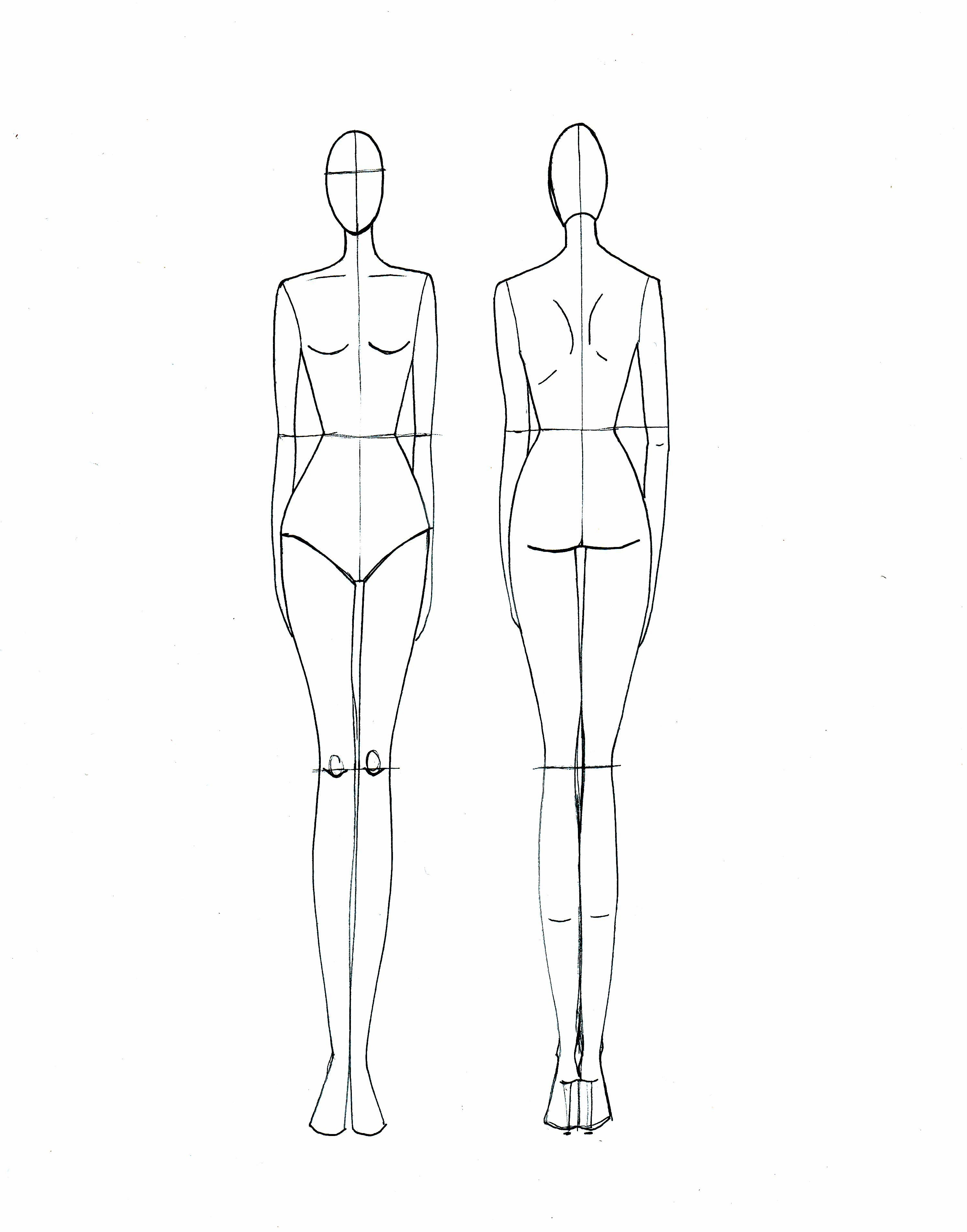 Blank Fashion Design Models   Projects To Try   Fashion Illustration - Free Printable Fashion Model Templates