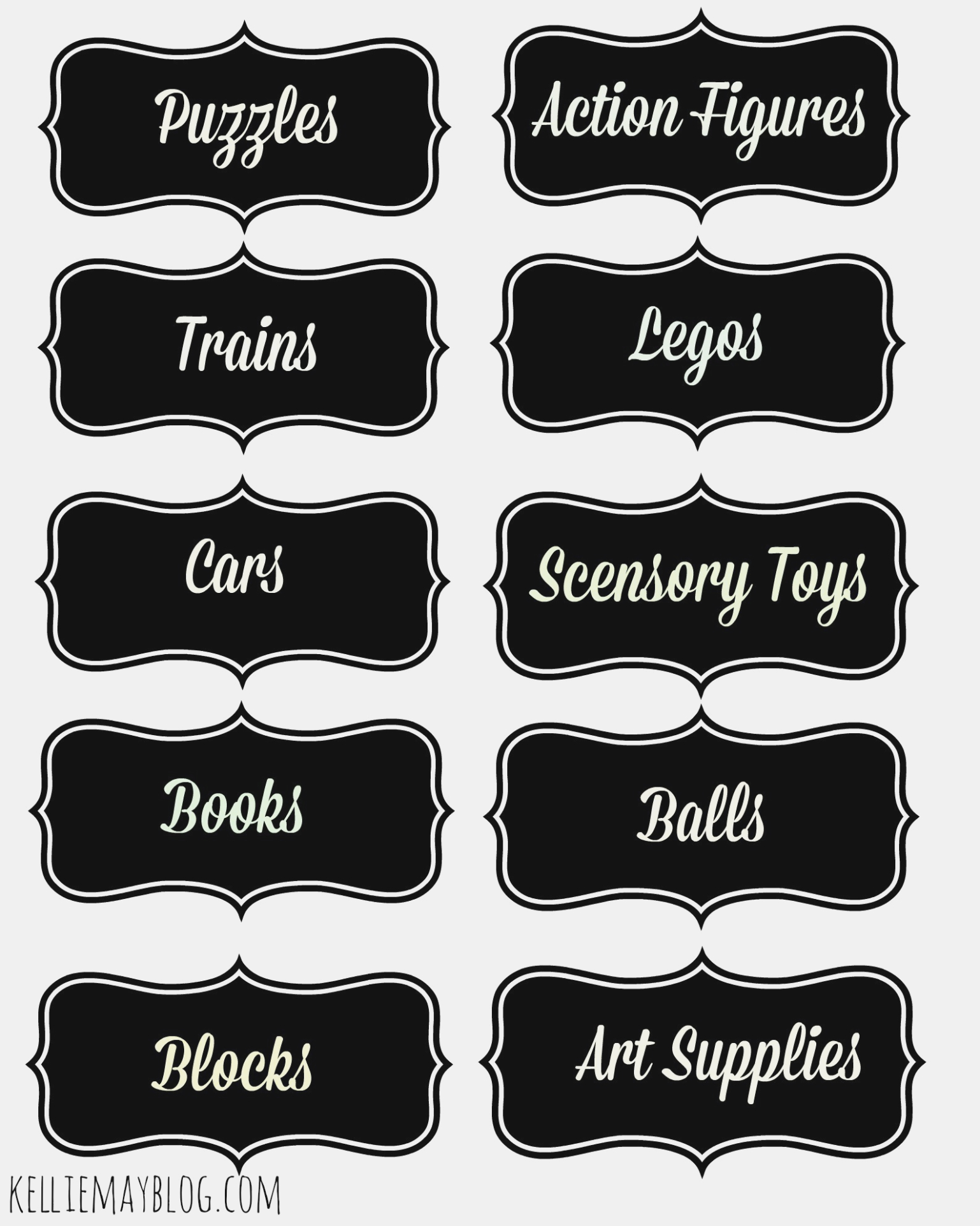 Book Bin Labels Printable | Popisgrzegorz – Label Maker Ideas - Free Printable Book Bin Labels