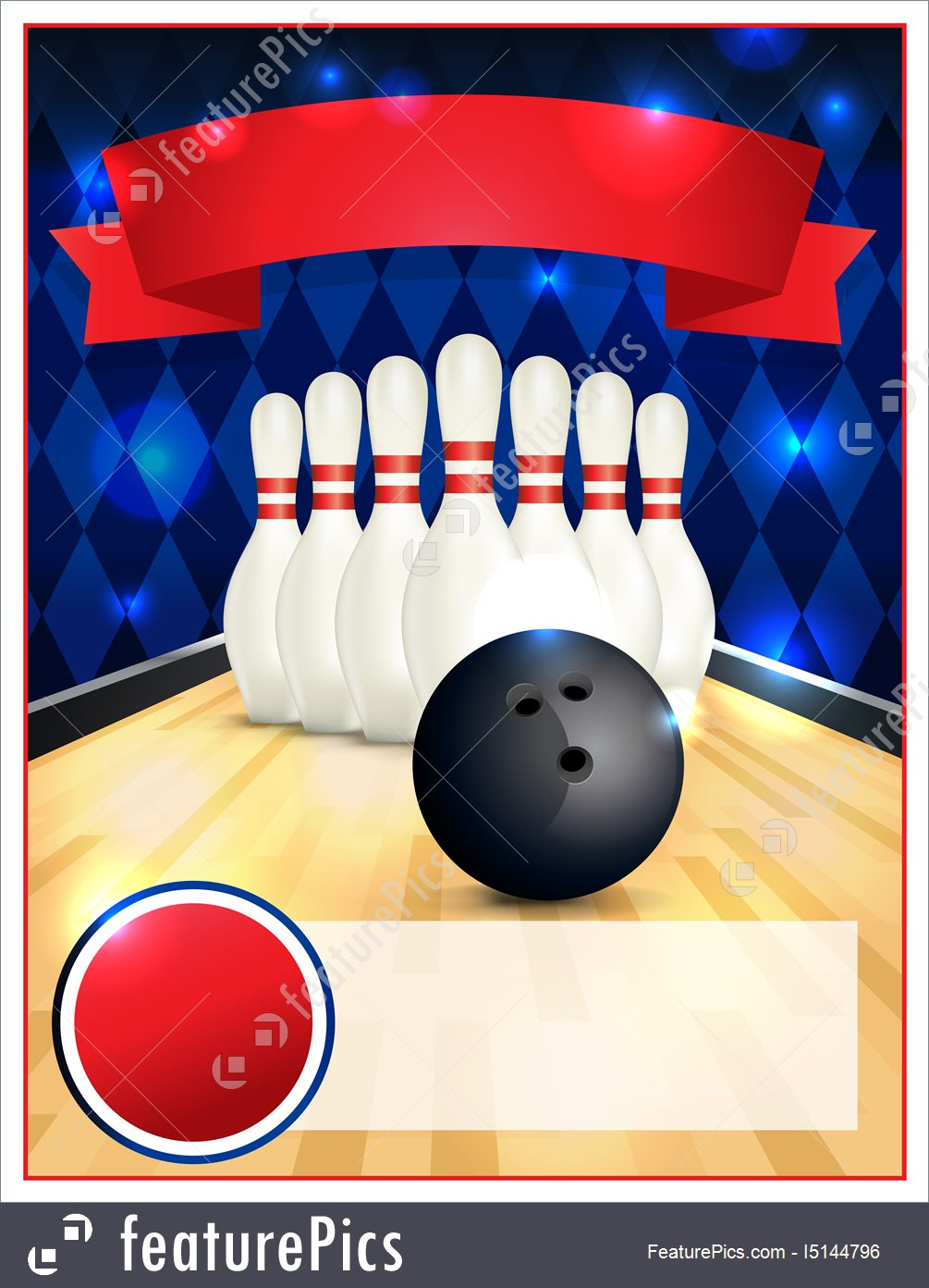 Bowling Party Invitation Template | Hunecompany - Free Printable Bowling Invitation Templates