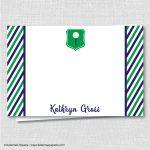 Boy Golf Baby Shower Custom Notecard Baby Shower Stationery | Etsy – Free Printable Golf Stationary