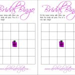 Bridal Bingo (And A Free Printable) | A Bride On A Budget   Free Printable Bridal Shower Bingo